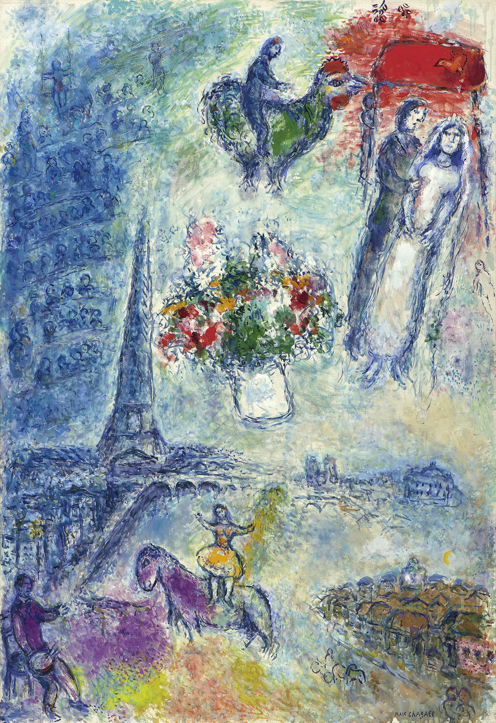 Marc Chagall in the spotlight on Galerie Boulakia\'s booth at TEfaf ...