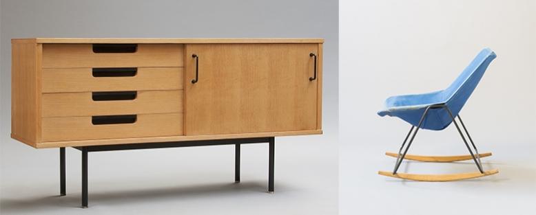 Galerie Pascal Cuisinier Design francais années 50 miami