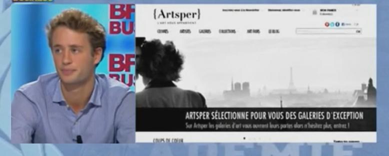 Artsper, BFM Académie